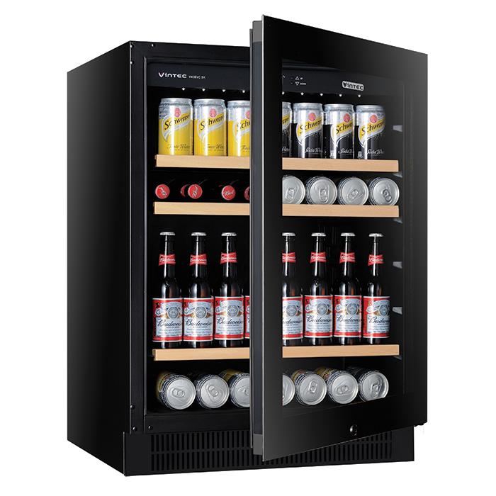 V40bvcbk 100 Bottle Home Wine Bar Vintec Australia