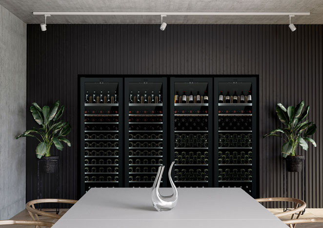 Tall Wine Cabinets
